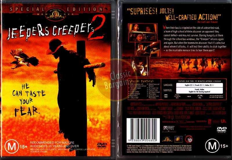 123movies - Jeepers Creepers 2 Watch here for free